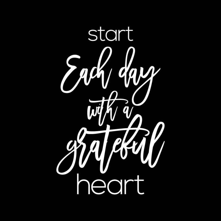 Start each day with a Grateful Heart | Best Gratitude Quotes