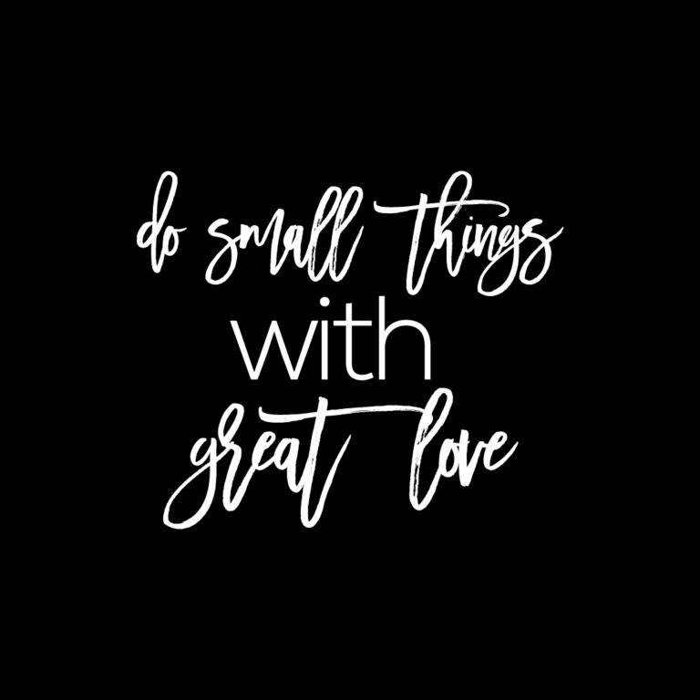 Do small things with Great Love Quotes | Love Quotes
