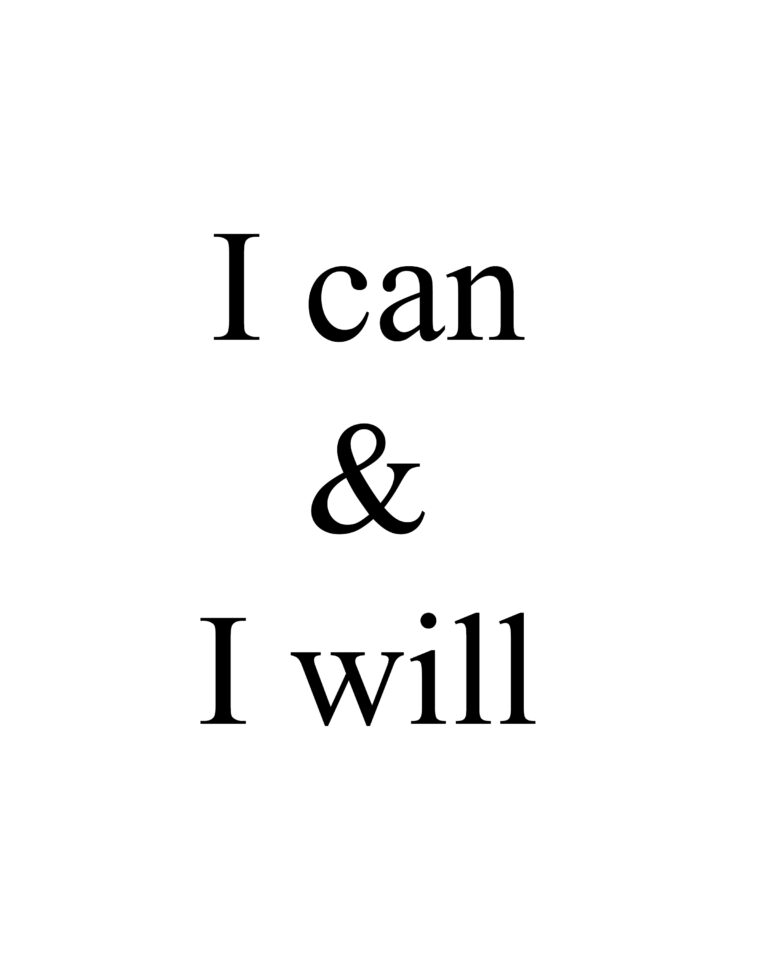 I can & I will Quotes | Best I Can Do It Quotes