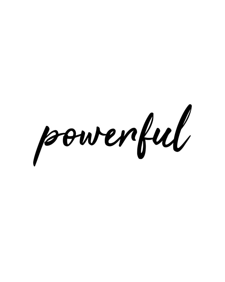 Powerful  | You are Powerful Quotes