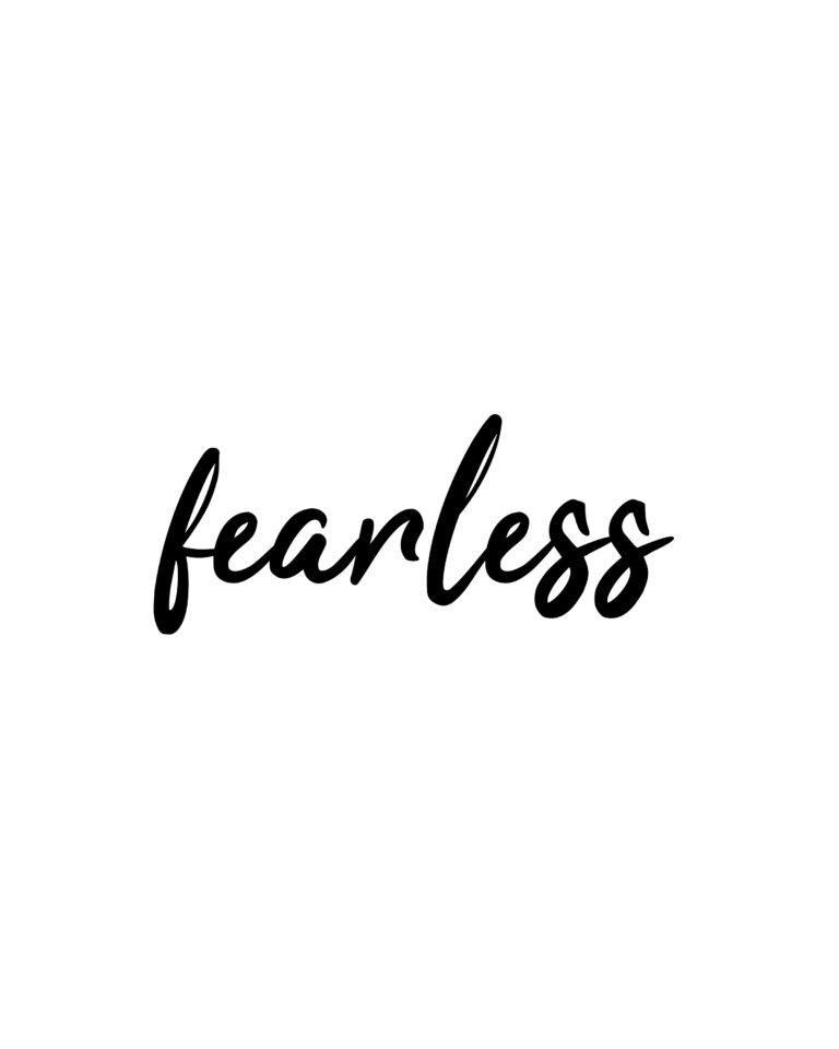 Fearless | Be Fearless Quotes