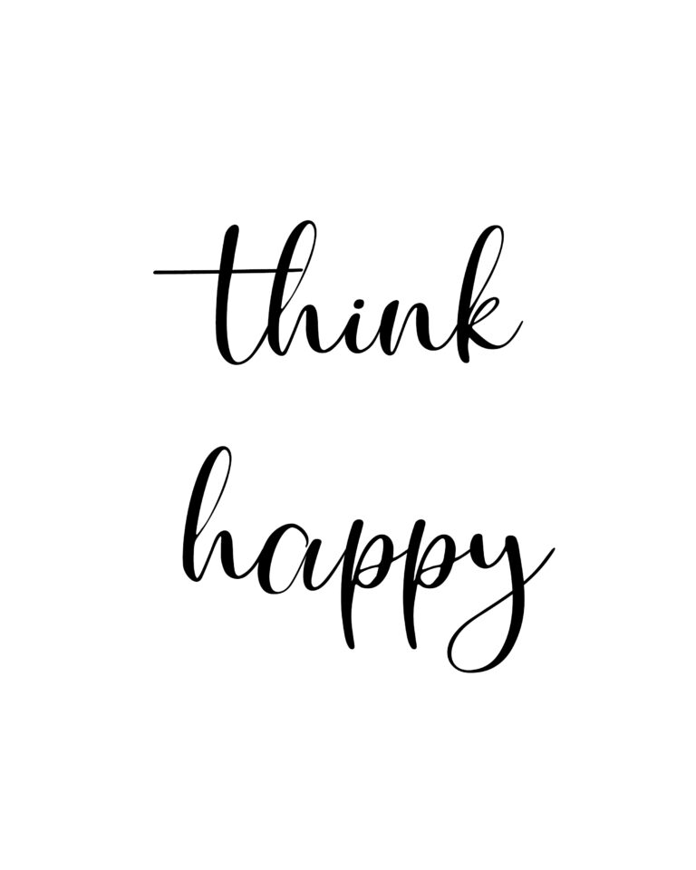 Think Happy Quotes | Best Happiness Quotes