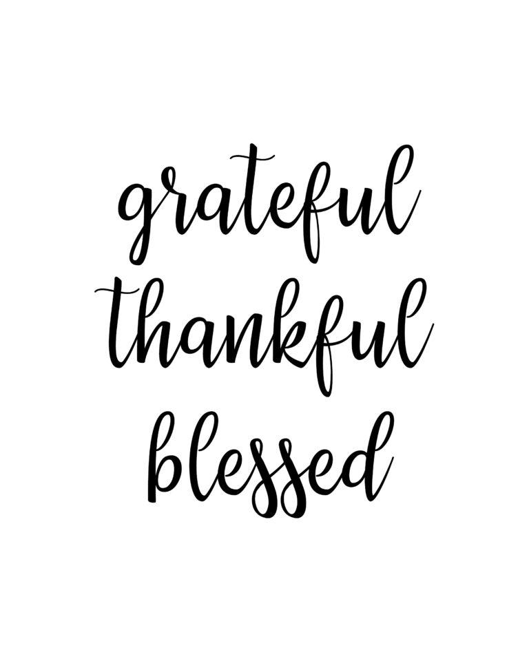 Grateful Thankful Blessed Quotes | Best Grateful Quotes
