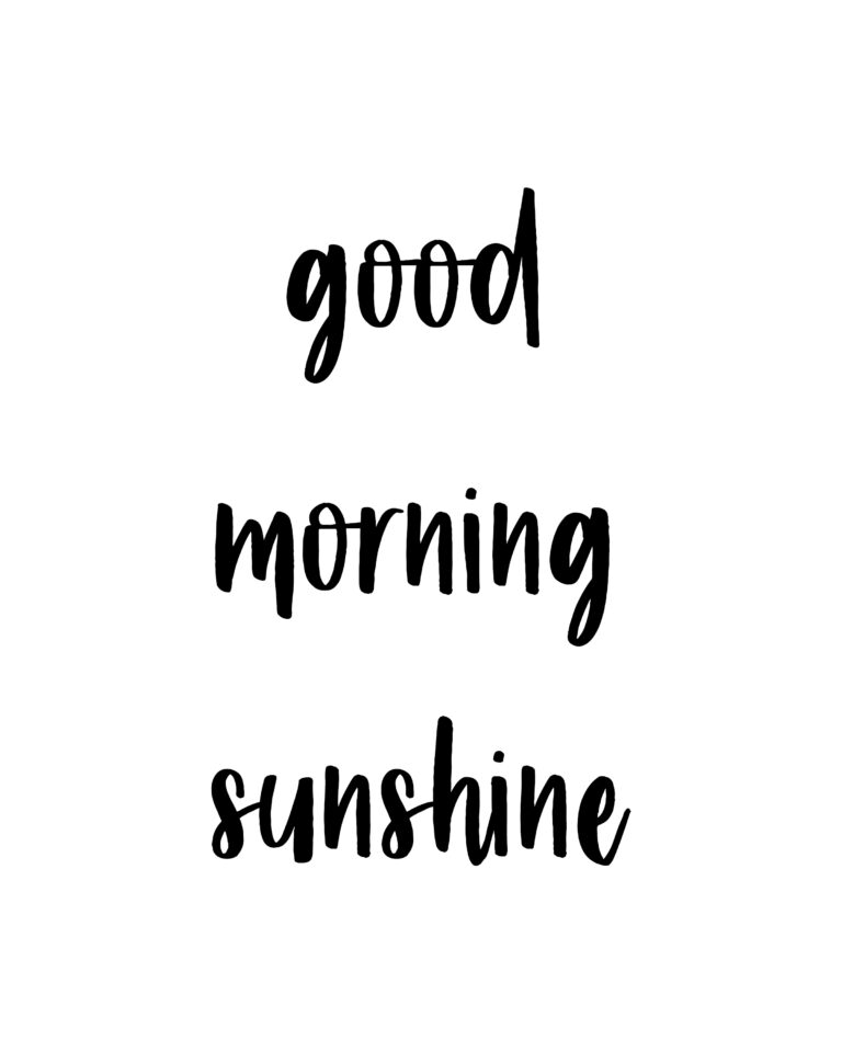 Good Morning Sunshine Quotes | Good Morning Quotes