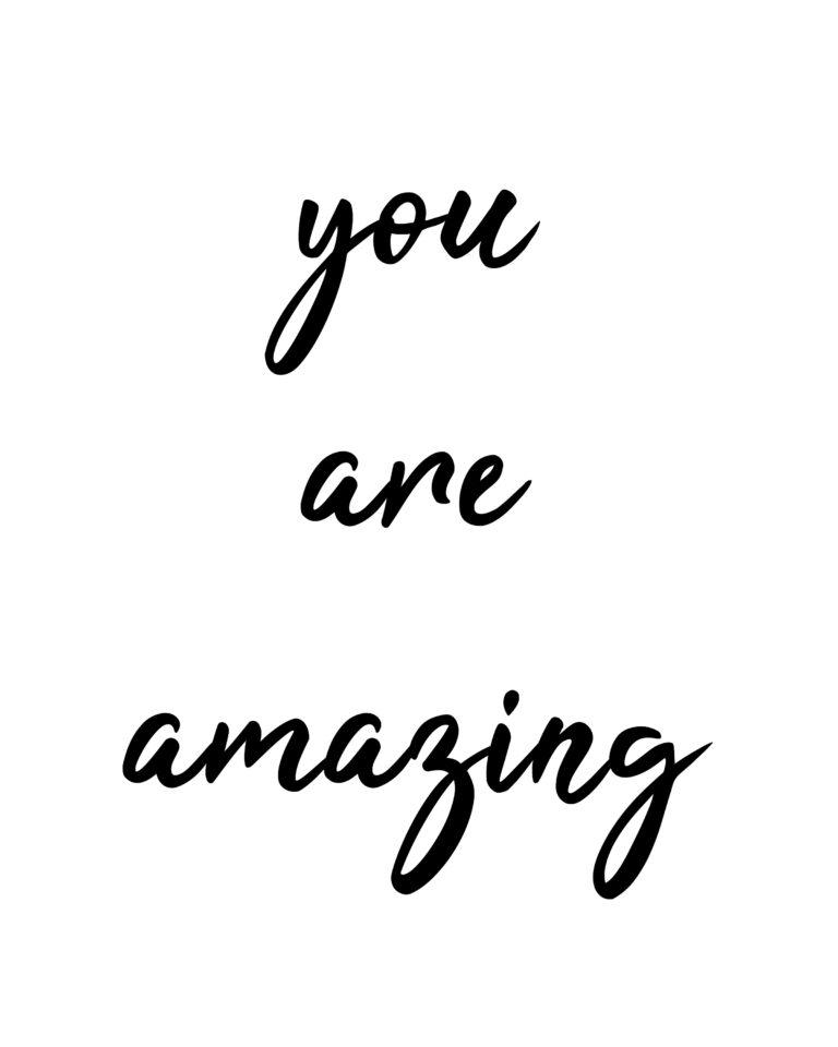 You are amazing Quotes | Amazing Quotes