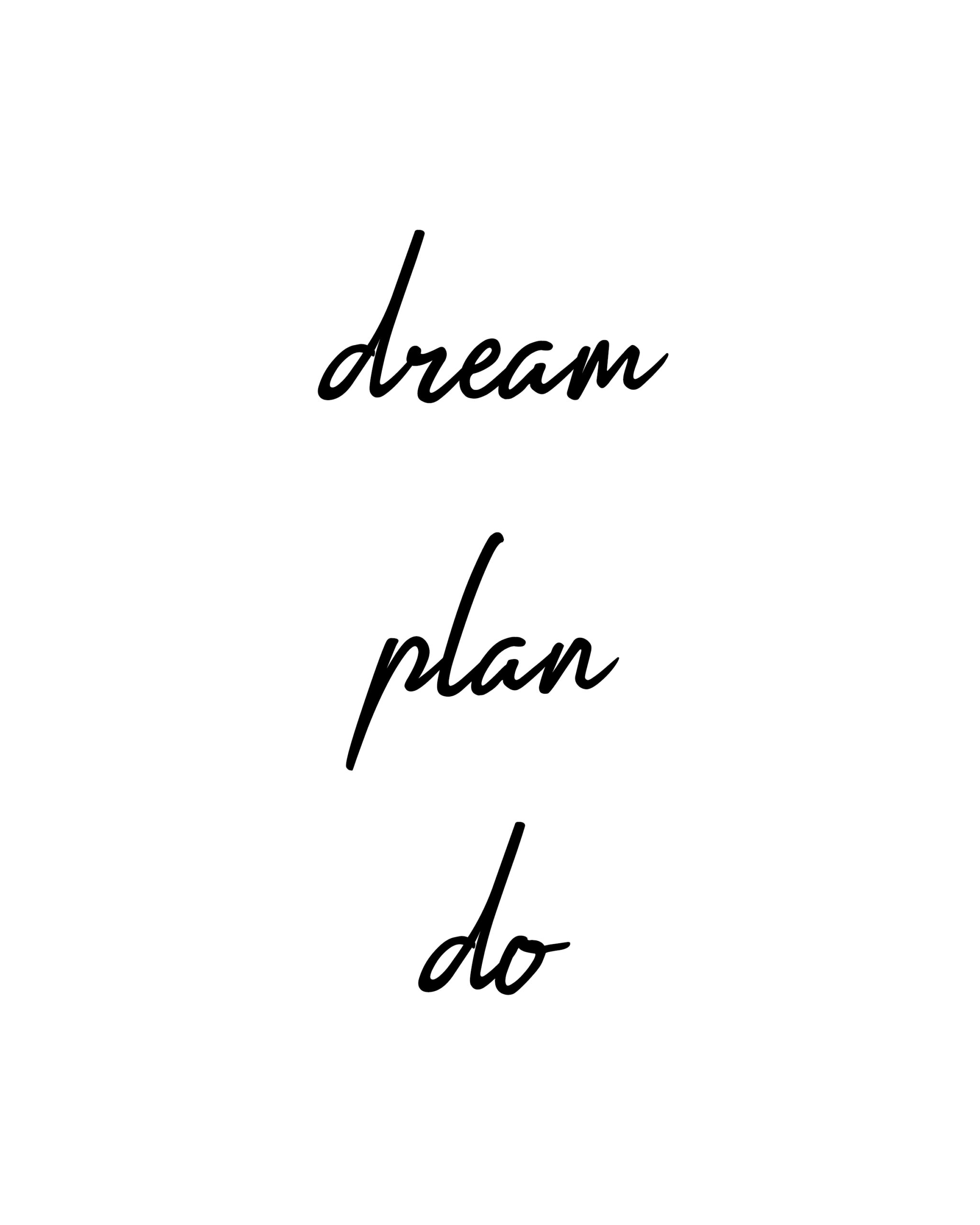 Dream Plan Do Quotes | Best Planning Quotes