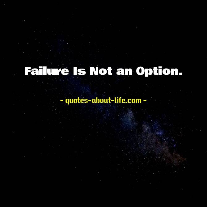 Failure Is Not an Option | Gene Kranz