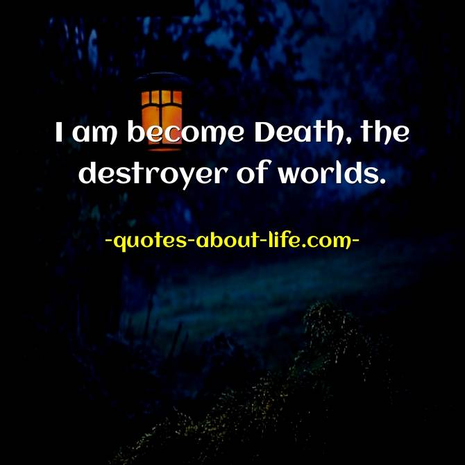"""""""Now I Am Become Death, the Destroyer of Worlds"""". The Love Song of J. Robert Oppenheimer"""