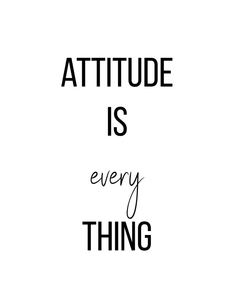 Attitude is Everything | Best Attitude Quotes