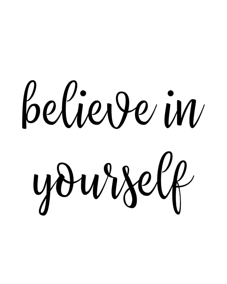 Believe in Yourself Quotes | Self Believe Quotes