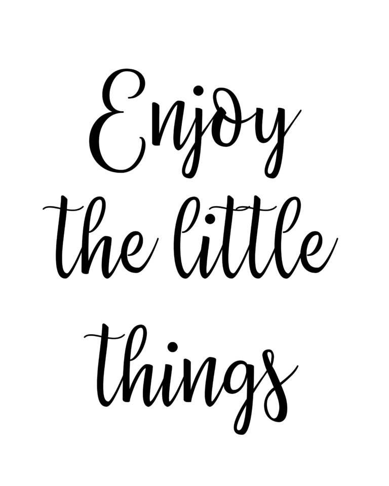 Enjoy the Little Things Quotes | Enjoy Quotes
