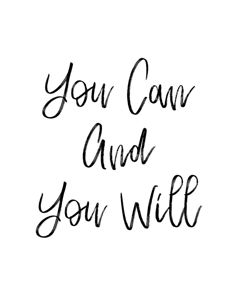 You can and you will quote | You Can Do It Quotes