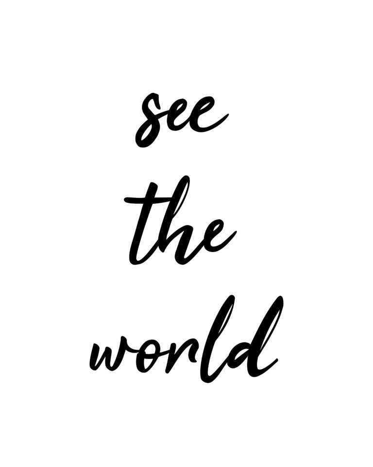 See the World | Adventure & Travel Quotes