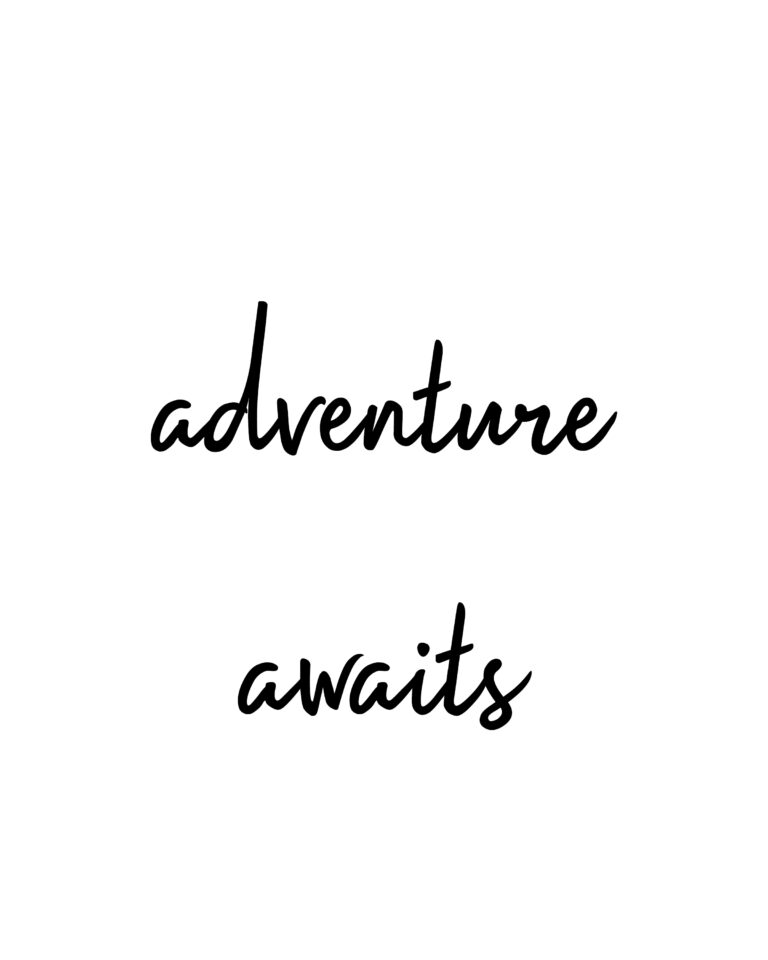 Adventure Awaits | Travel & Adventure Quotes