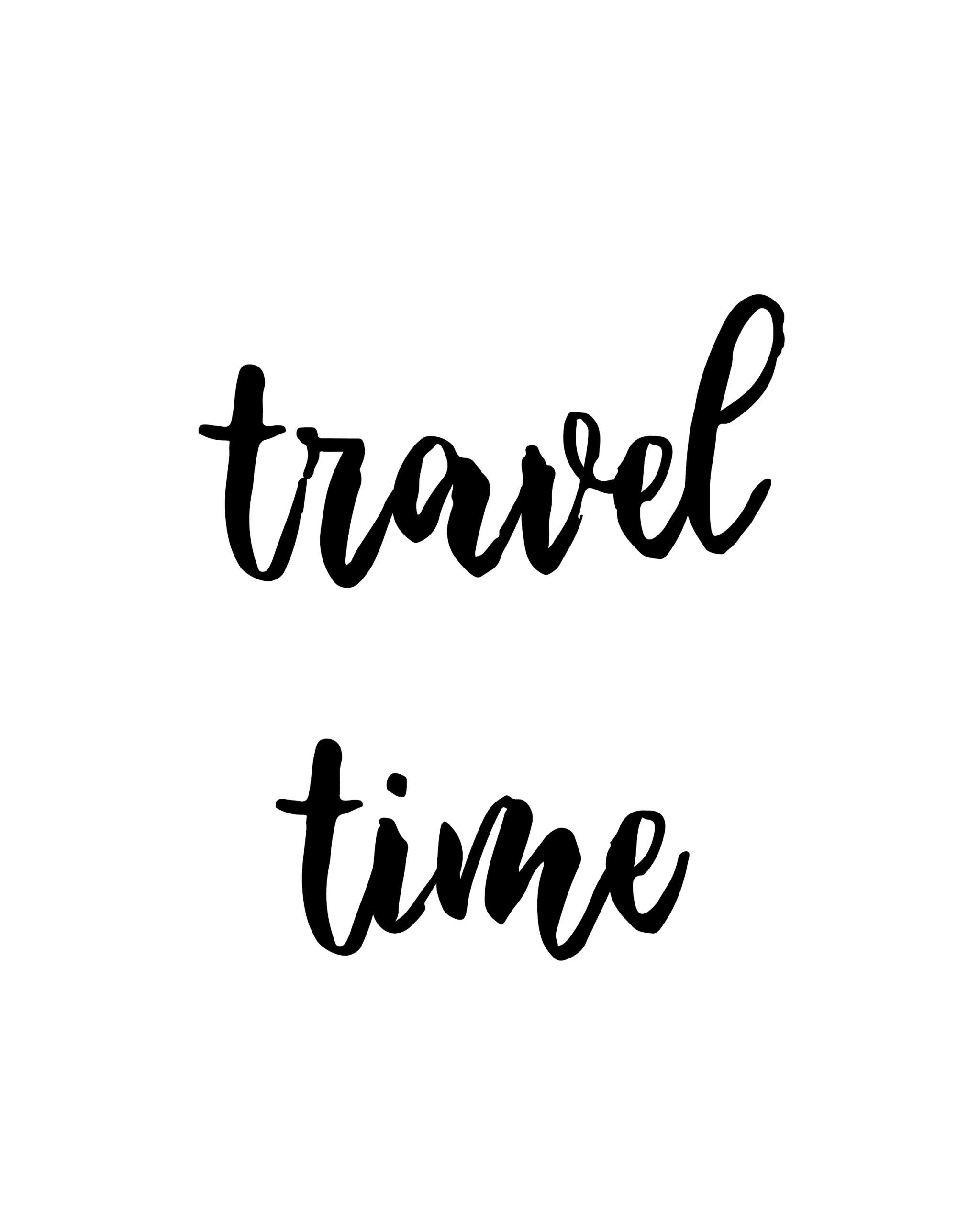 Travel Time Quotes