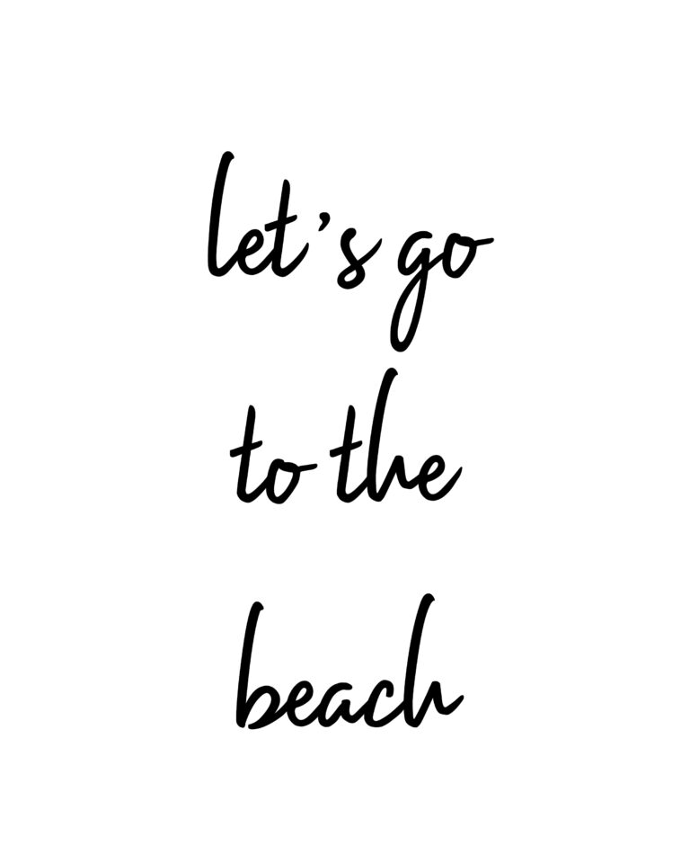 Let's go to the beach Quotes | Travel & Beach Quotes