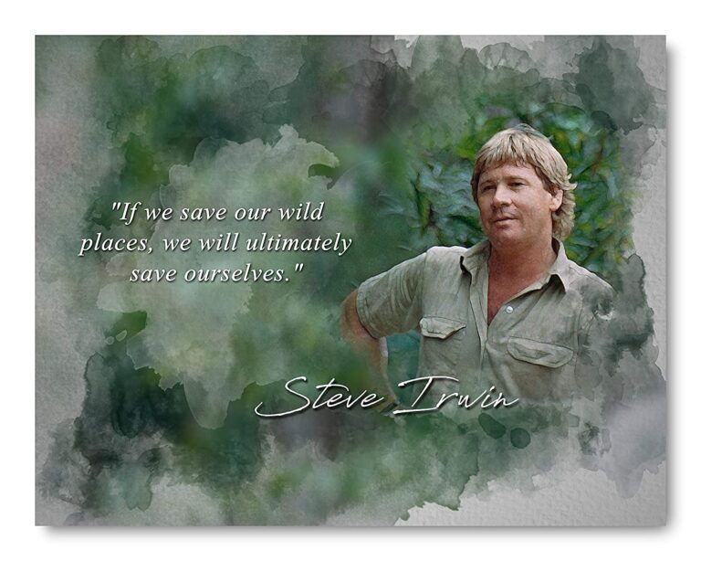 120+ Famous & Inspiring Steve Irwin Quotes | Steve Irwin Biography Facts