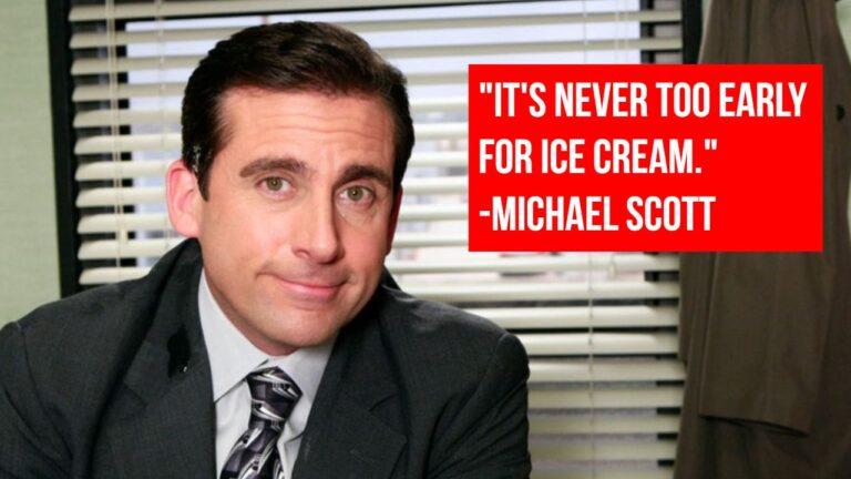 310+ (BEST) Inspirational Michael Scott Quotes About Life, Love & Work
